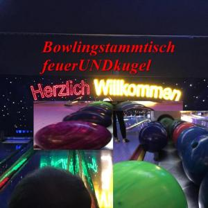 Bowling Stammtisch raum Stuttgart