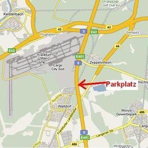 Rastplatz an der A5 - Heidelberg Richtung Frankfur