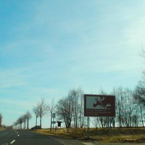 An der ehemaligen Grenze zwischen Andenhausen und
