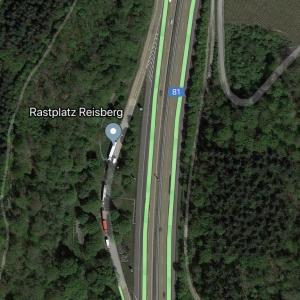 Parkplatz Reisberg A81