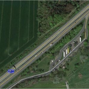 A261 Richtung Hamburg