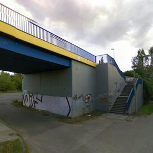 S-Bahn-Brücke an der Gehrenseestraße