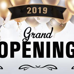 Grand Opening - die mega Eröffnungsparty