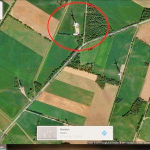 Windpark in Hollich